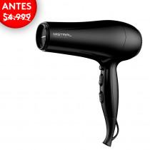 GAMA Secador de cabello Mistral Ceramic Ion 2200W 145740 Negro