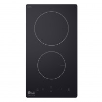 LG Anafe 30cm BER2G 2 hornallas Negro