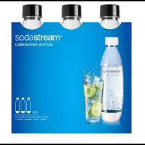 Sodastream Botella TRIPACK BLACK FUSE