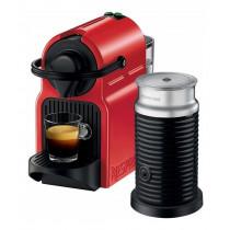 Nespresso Cafetera Caps INISSIA RED + Aero I319648/RED