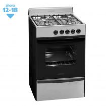 Longvie Cocina Multigas 4H 56cm 13231X/XF Inox