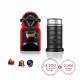 Nespresso Cafetera Caps INISSIA RED + Aero I319648